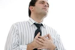 Боль в груди при грыже
