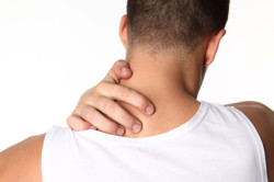 Боль в шее при остеохондрозе