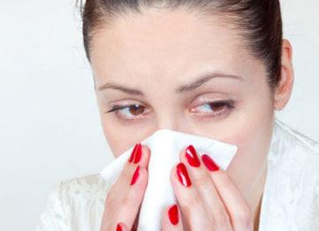 Что можно делать в домашних условиях, если заложен нос?