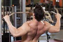 Тренажер с грузом для спины