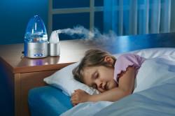 Увлажнитель воздуха для облегчения симптомов насморка
