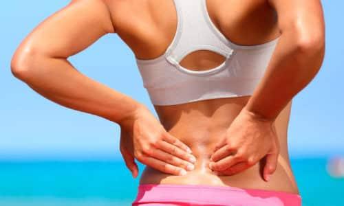 Терапевтический комплекс включает физиотерапевтические процедуры и выполнение упражнений, направлена на купирование боли