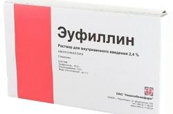 Эуфиллин при остеохондрозе