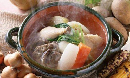 Горячая и холодная пища исключена. Идеальной температурой считается температура тела, то есть приблизительно 40ºС