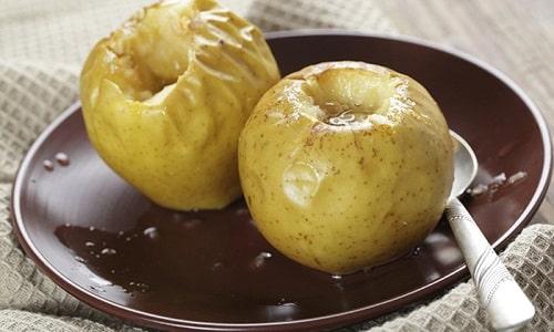 При грыже пищеводного отверстия диафрагмы можно есть печенные яблоки