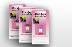 Изофра для лечения гайморита