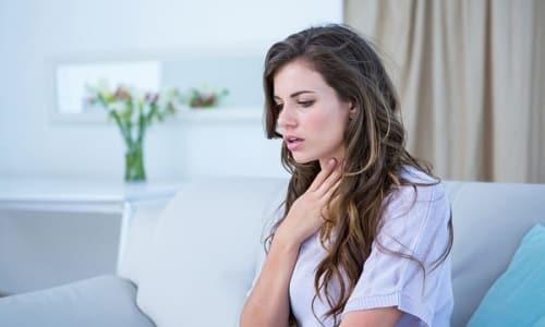 При наличии аденомы щитовидной железы физическая нагрузка сопровождается возникновением стойкой одышки