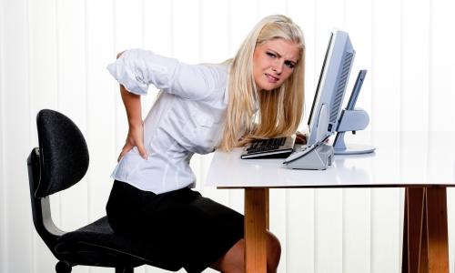 Развитие остеохондроза у офисных работников