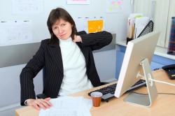 Малоподвижный образ жизни - одна из причин появления остеохондроза