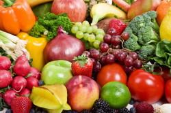 Овощи и фрукты при детском натяжном насморке