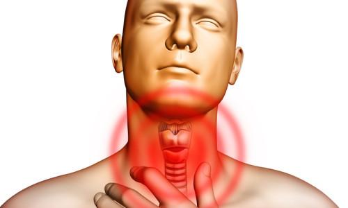 Проблема першения в горле