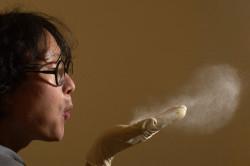 Пыль - одна из причин соплей у грудного ребенка