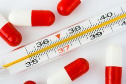 Повышение температуры при заболевании яичников