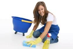 Влажная уборка для профилактики аллергического насморка