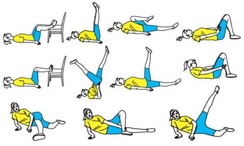 Комплекс упражнений при варикозном расширении вен на ногах
