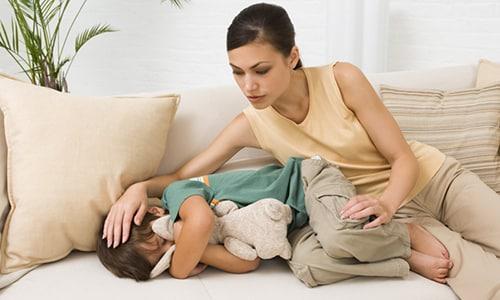 Из-за патологии состояние ребенка стремительно ухудшается