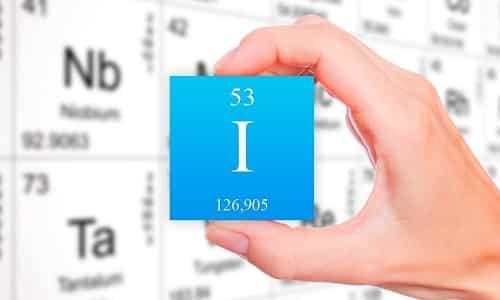 Йод - это единственный из микроэлементов, который участвует в образовании гормонов щитовидной железы