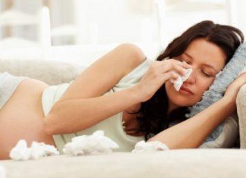 Чем эффективнее лечить заложенность носа при беременности